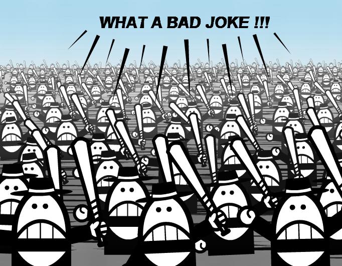 What a bad joke!!!
