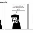 Ninjas Stole My Motorcycle