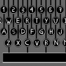 Typewriter keys!