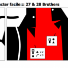 :::le character facile::: 27 &amp; 28 Brothers