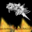 Happy birthday Craigdragon