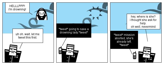 Police the tweet