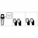 Jesus, AA meeting, Vampires.