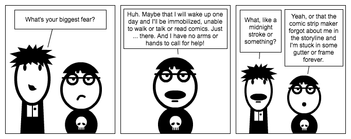 Comic Strip Fear
