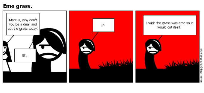 Emo grass.