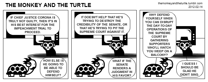 The Monkey and the Turtle (2012-02-14)