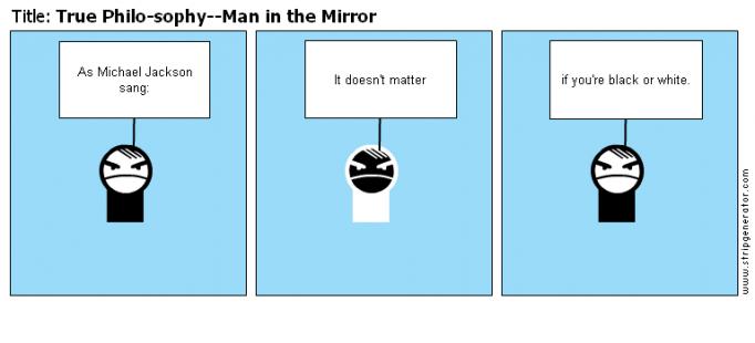 True Philo-sophy--Man in the Mirror