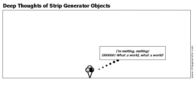 Deep Thoughts of Strip Generator Objects