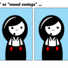 """La donna è mobile"" or ""mood swings"
