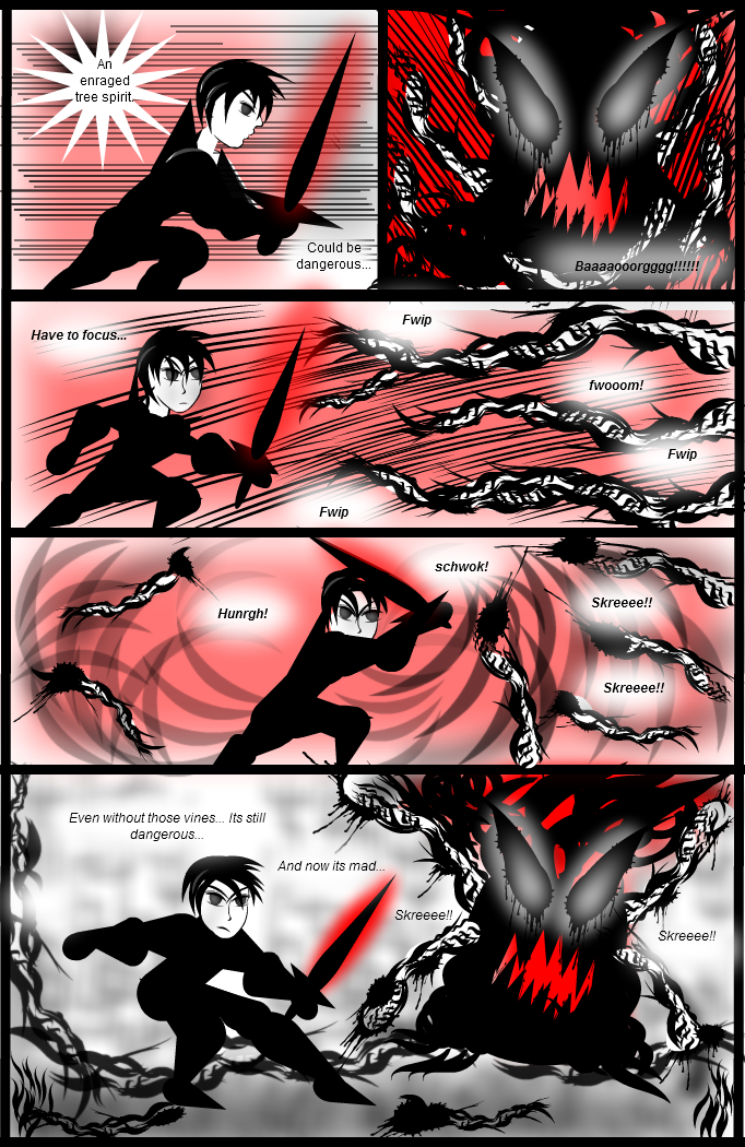Wolf-Knight Manga - Pg2 (B)