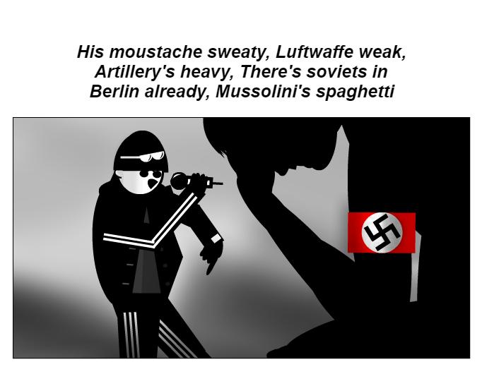 Mussolini's spaghetti