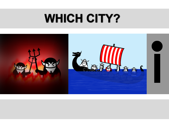 Which City? (4)