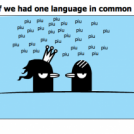 If we had one language in common
