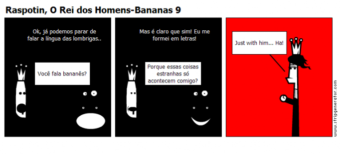 Raspotin, O Rei dos Homens-Bananas 9
