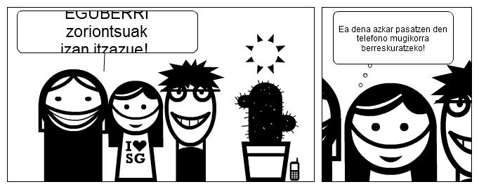 Eguberri zoriontsuak