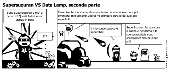 Supersuzuran VS Data Lamp, seconda parte