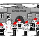 Freaks & Creeps! Christmas Card