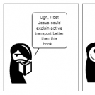 Jesus explains active transport