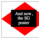 And now, SG poster