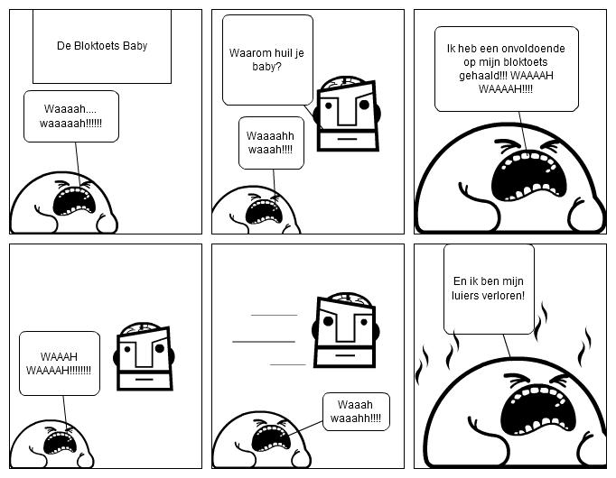 De Bloktoets Baby (NL)