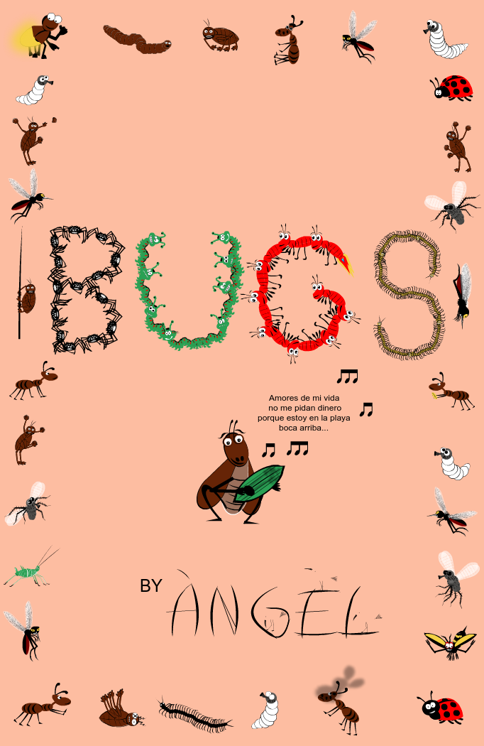 Bugs stories. Book(let) cover