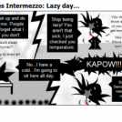 Vampyressa Chronicles Intermezzo: Lazy day...
