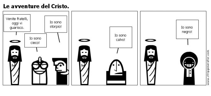 Le avventure del Cristo.