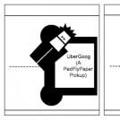 Use of Pedestrian Flypaper