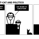 HYPNO-COMMUNIST-CAT AND POLITICS