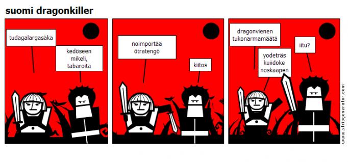 suomi dragonkiller