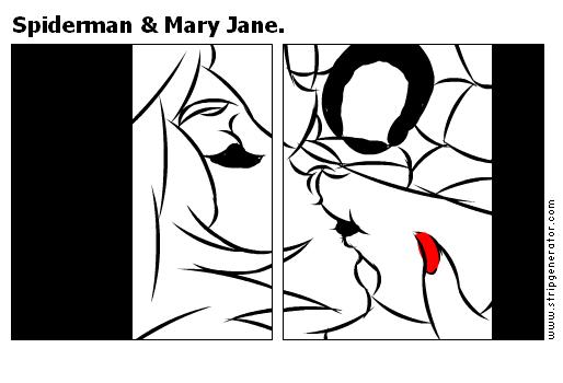 Spiderman & Mary Jane.