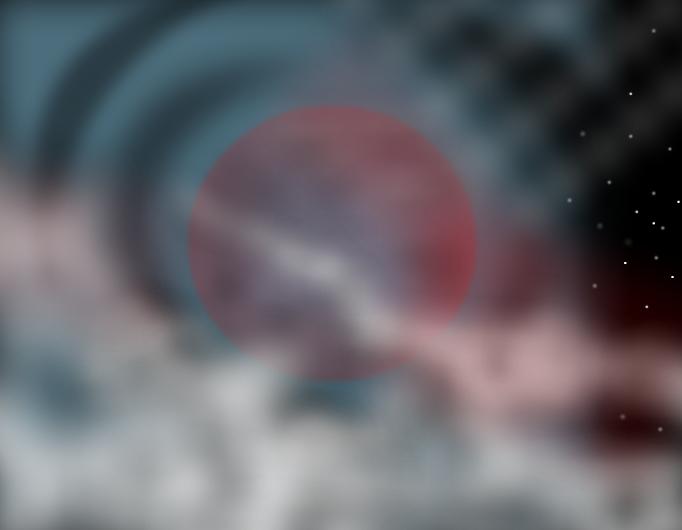 Nebula Moon
