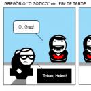 """GREGÓRIO """"O GÓTICO"""" em: FIM DE TARDE"""