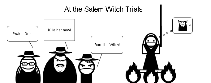 a paper on the salem witch trials This is a list of people associated with the salem witch trials, a series of hearings and prosecutions of people accused of witchcraft in colonial massachusetts between february 1692 and may 1693.
