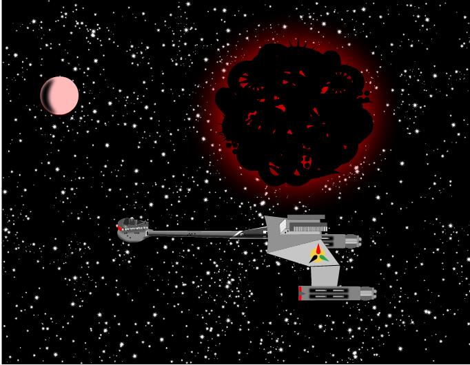 Klingon D7 Battlecrusier