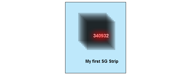 Number of my first SG strip