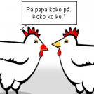 Hen talks