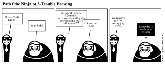 Path f the Ninja pt.2-Trouble Brewing