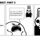 MEGA BLOGGER RABBIT. PART 3