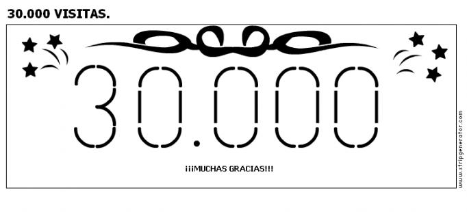30.000 VISITAS.
