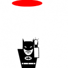 Batman's got a portal gun