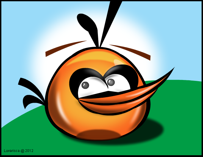 Angry Bird: Orange