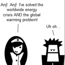 Energy Crisis and Global Warming Solution