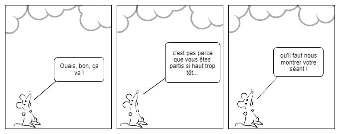 Parle à mon nuage...