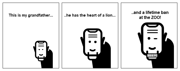 The heart of a lion.