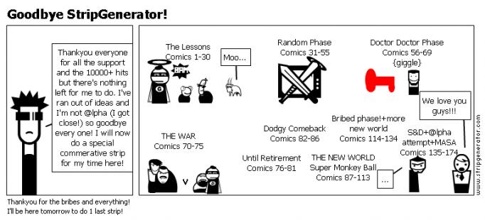 Goodbye StripGenerator!
