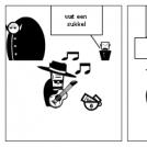 de dood van de zwerver