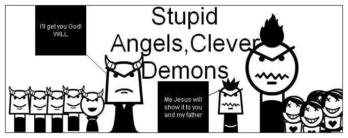 stupid angels poster and cover