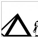 Du bas de ces pyramides...