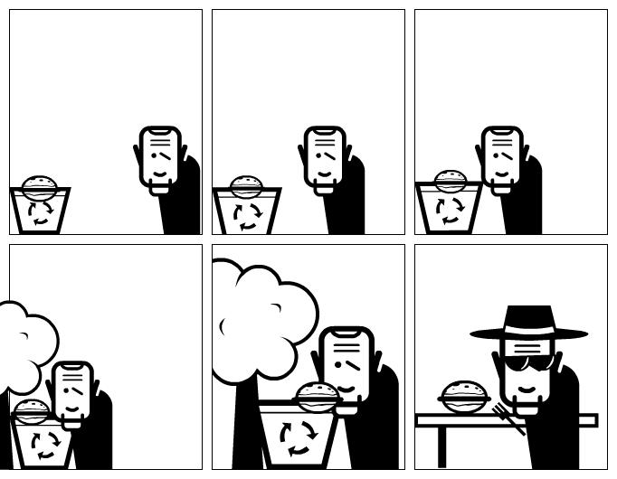het heerlijke broodje (the nice roll)